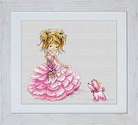 B1056 Принцесса. Luca-S. Набор для вышивания нитками