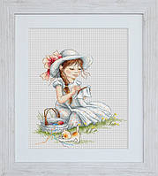B1059 Повышивать . Luca-S. Набор для вышивания нитками