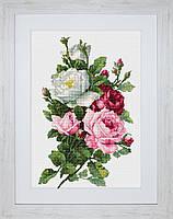 B2285 Букет из роз. Luca-S. Набор для вышивания нитками