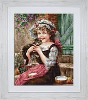 B538 Маленький котенок. Luca-S. Набор для вышивания нитками