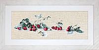 BL2253 Малина с бабочкой  . Luca-S. Набор для вышивания нитками