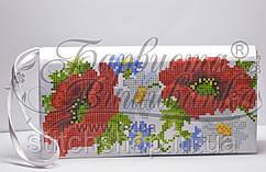 КЛ-001 Сумочка. Барвиста Вишиванка. Заготовка для вышивки бисером или нитками.