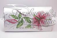 КЛ-002 Сумочка. Барвиста Вишиванка. Заготовка для вышивки бисером или нитками.
