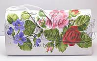 КЛ-021 Сумочка. Барвиста Вишиванка. Заготовка для вышивки бисером или нитками.