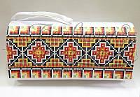 КЛ-028 Сумочка. Барвиста Вишиванка. Заготовка для вышивки бисером или нитками.