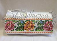 КЛ-030 Сумочка. Барвиста Вишиванка. Заготовка для вышивки бисером или нитками.