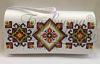 КЛ-045 Сумочка. Барвиста Вишиванка. Заготовка для вышивки бисером или нитками.