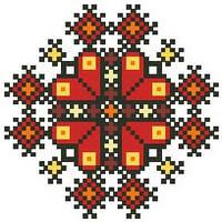 КЛ-047 Сумочка. Барвиста Вишиванка. Заготовка для вышивки бисером или нитками.