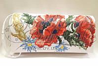 КЛ-054 Сумочка. Барвиста Вишиванка. Заготовка для вышивки бисером или  нитками. 00d8945053645
