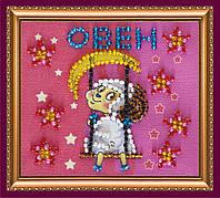 Набор-магнит для вышивки бисером «Знак Зодиака «Овен»»