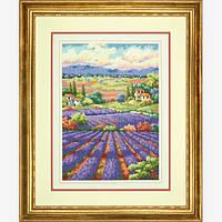 "70-35299 ""Лавандовые поля//Fields of Lavender"" DIMENSIONS Gold Collection. DIMENSIONS. Набор для вышивания нитками"
