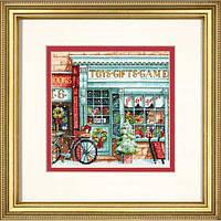 """70-08900 """"Магазин игрушек//Toy Shoppe"""". DIMENSIONS. Набор для вышивания нитками"""