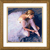 """35181 """"Красота балерины//Ballerina Beauty"""" DIMENSIONS Gold Collection. DIMENSIONS. Набор для вышивания нитками"""
