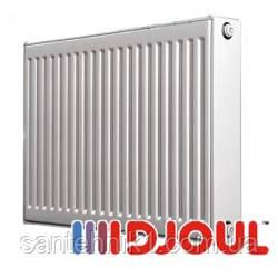 Cтальной радиатор DJOUL 11 Тип 500х1100 (боковое подключение)