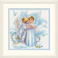 "35134 ""Поцелуй ангела//Angel Kisses"" DIMENSIONS. Набор для вышивания нитками"