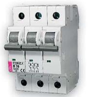 Автоматический выключатель ETIMAT 6  3p С 10А (6 kA)