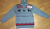 Красивый теплый свитер для мальчиков от 3 до 5 лет.