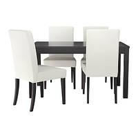Стол BJURSTA / HENRIKSDAL 4 стула IKEA