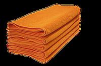 Полотенце махровое Lotus 50*90 оранжевое