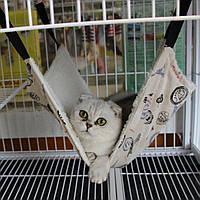 Кровать-гамак для мелких животны и кошек