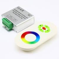 Контроллер 12V RGB для светодиодной ленты 216Вт 18А-радио-5 Touch белый, фото 1