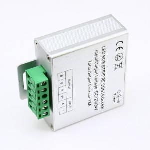 Контроллер 12V RGB для светодиодной ленты 216Вт 18А-радио-5 Touch белый, фото 2