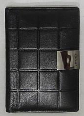 Обложка для паспорта из натуральной кожи.