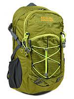 Рюкзак Туристический Royal Mountain нейлон, отдел для ноутбука. Зеленый