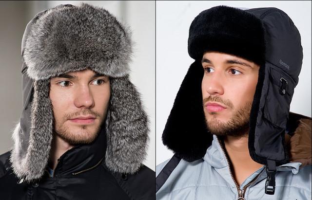 Модные мужские зимние шапки