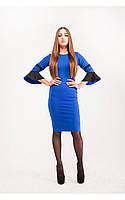 Платье облегающее с воланами, фото 1