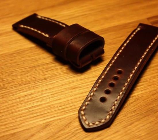 Изготовление ремешков для часов из натуральной кожи