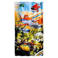 Детское махровое полотенце Disney оригинал Самолет Дасти