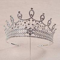 Корона, диадема для девочки, высота 8,5 см., фото 1