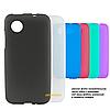 Чехол-накладка Silicon Case для Nokia Lumia 520, 525 Pink