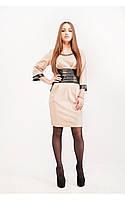 Платье красивое из эко-кожи