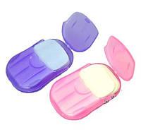 Дорожное мыло в пластинках в футляре, фото 1