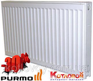 Стальные радиаторы PURMO Compact (Пурмо Компакт) 33 тип (V33), нижнее подключение, 500х500