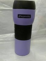 Термокружка Kamille 420мл фиолетовый, фото 1