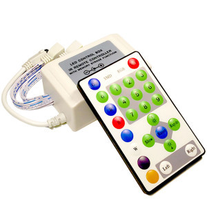 Контроллер 12V RGB для светодиодной ленты 324Вт 27А-инфракрасный