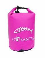 Сумка водонепроницаемая Oceantag Pink 15L
