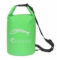 Сумка водонепроницаемая Oceantag Green15L