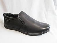 Детские школьные туфли оптом Nasite гладкие на плоской подошве