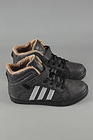 Кроссовки женские Adidas черные зимние