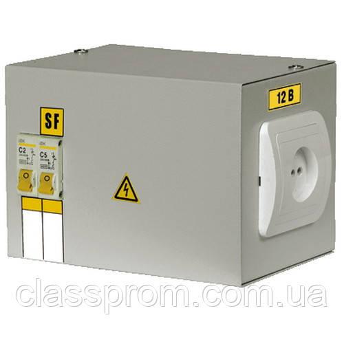 Ящик с понижающим трансфораматором ЯТП-0,25 220/12-2 36 УХЛ4 IP30 IEK