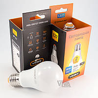 LED лампа светодиодная VIDEX A60e 10W E27 3000K 220V, фото 1