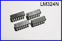 LM324N, 4-х канальный ОУ.