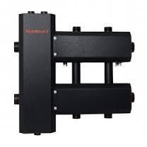 Гидрострелка в комплекте с коллектором (в изоляции) на 2 узла Termojet