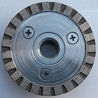 Алмазный диск, Granite Turbo  с фланцем 65x2,8/1,8x7x22,23/F-M14 1A1R