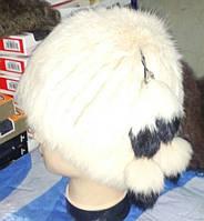 Женская шапка кубанка из кролика