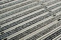 ACO Vario алюминиевая решётка с войлочным покрытием 1000х500х20 мм для поддержания чистоты. Светло-серый